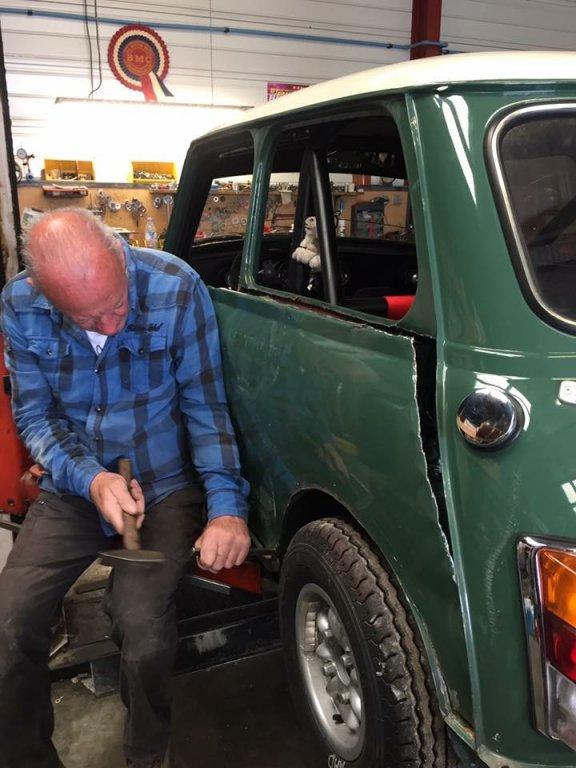 Préparation voiture mini